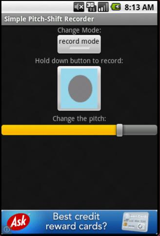 Simple Pitch-Shift Recorder for Android - APK Download