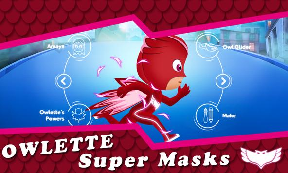 Pj Amaya Masks  Owlette screenshot 1
