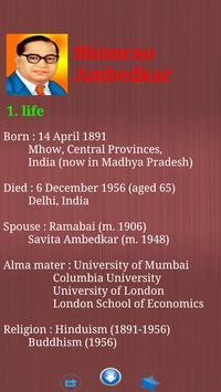 BR Ambedkar Biography & Quotes screenshot 5
