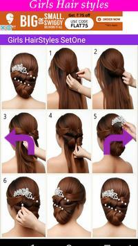 Girls HairStyles HD apk screenshot