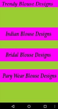 Trendy Blouse Designs HD poster