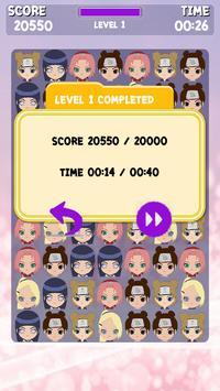 Ninja Girls Match Kids apk screenshot