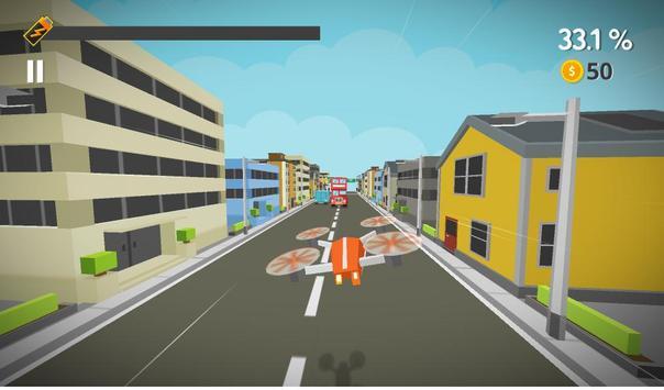 GO DRONE - Traffic Rush screenshot 2