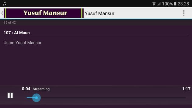 ustad yusuf mansur quran karim apk screenshot