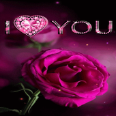 Diamond Heart Rose LWP icon