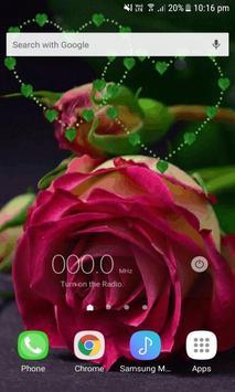 Green Heart Rose LWP screenshot 1