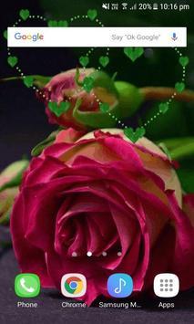 Green Heart Rose LWP screenshot 2