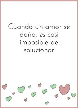 Pretty love quotes in Spanish screenshot 2