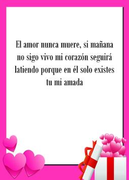 Love poems & quotes in Spanish apk screenshot