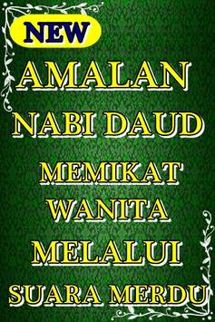 Amalan Nabi Daud Memikat Wanita poster