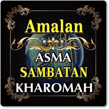 AMALAN ASMA SAMBATAN KHAROMAH TERLENGKAP screenshot 1