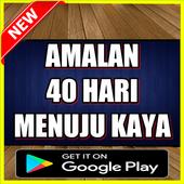 AMALAN 40 HARI JADI KAYA DAN REJEKI MELIMPAH icon