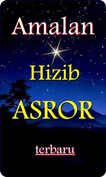 Amalan Hizib Asror poster