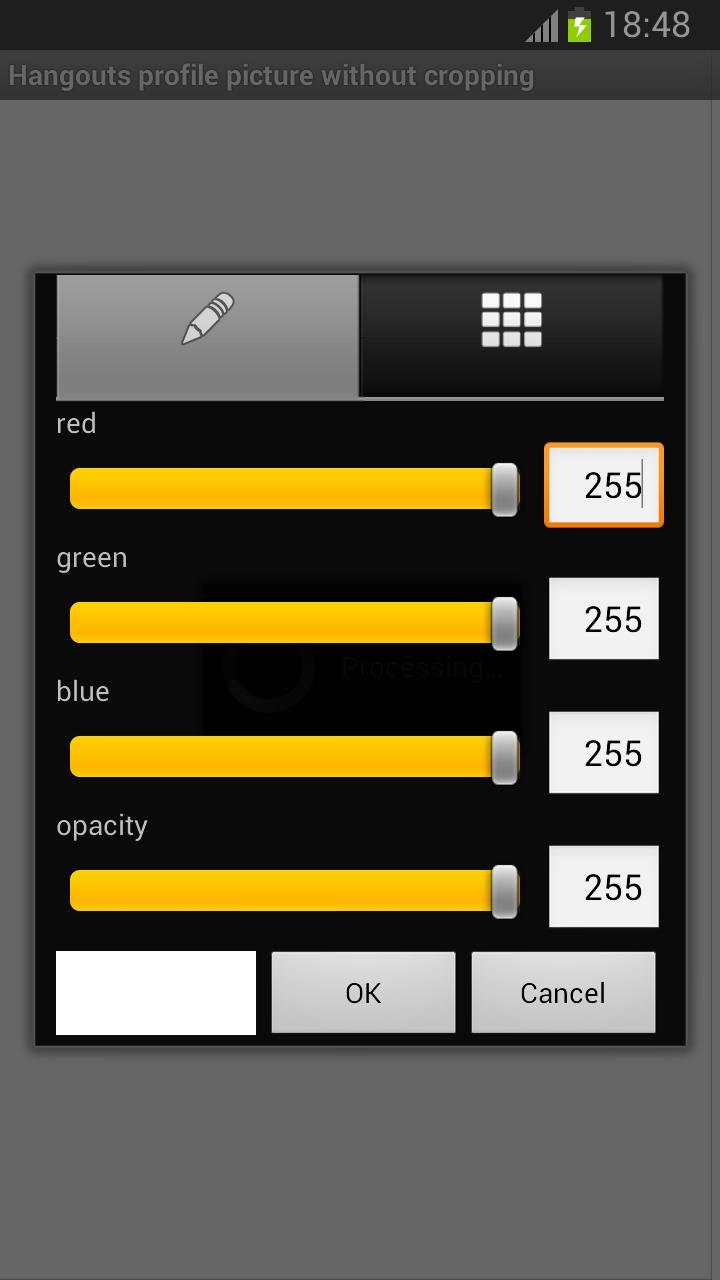 Profil Sans Recadrage Hangouts Pour Android Téléchargez L Apk