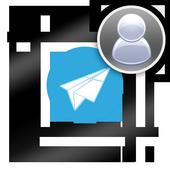 Profile w/o crop for Telegram icon