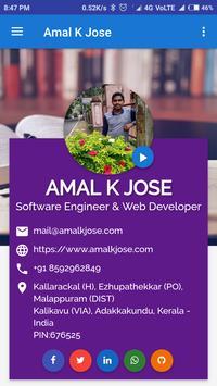 Amal K Jose screenshot 1