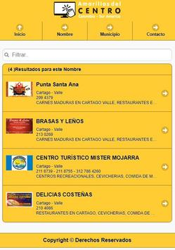 Amarillas del Centro de Colombia screenshot 1
