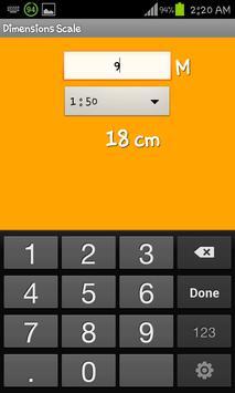 Dimensions Scale apk screenshot