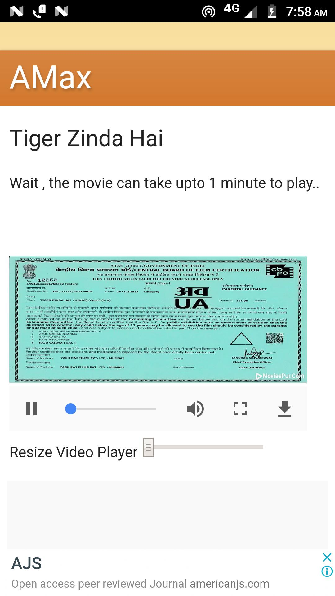 Tiger Zinda Hai Full Movie In Hd Salman Khan For Android Apk