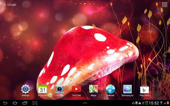 Magic Mushroom Live Wallpaper screenshot 10