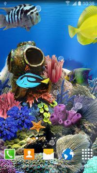 Coral Fish Live Wallpaper apk screenshot