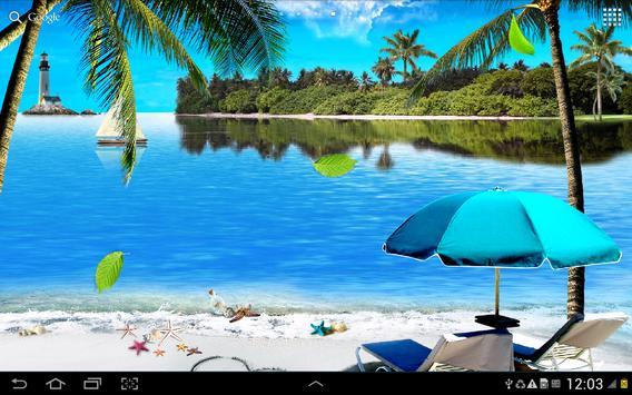 Beach Live Wallpaper Apk Download Free Personalization App Screenshot Sound