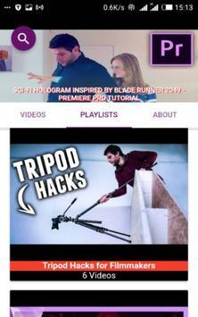 FILM MAKING LEARNING VIDEOS apk screenshot