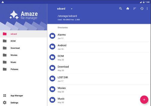 Amaze File Manager apk screenshot