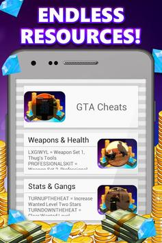 Game Cheats for Android apk screenshot