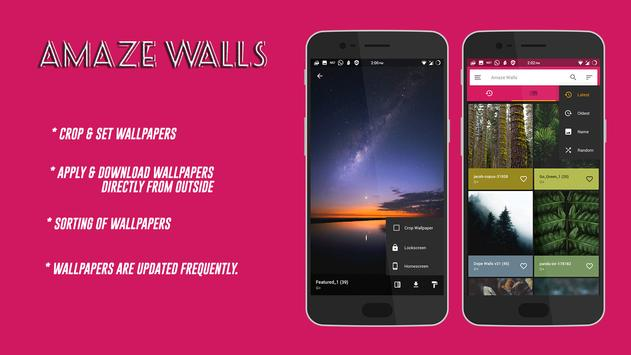 👌 Amaze Wallpapers 💪 apk screenshot