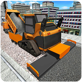 City Builder Road Construction icon
