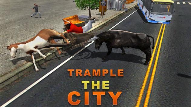 Angry Bull Attack Simulator 3D apk screenshot