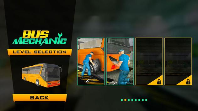 Bus Mechanic Simulator Game 3D poster