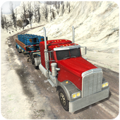Offroad Snow Truck Driver 3D icon