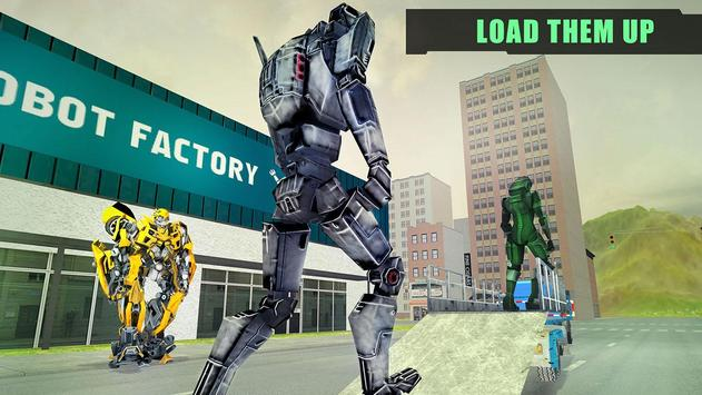 X Ray Robot Transport Truck 3D poster