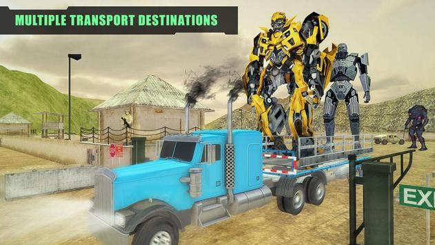 X Ray Robot Transport Truck 3D apk screenshot