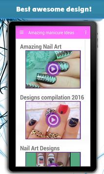 Amazing manicure Ideas screenshot 8