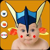 Poketown Photo Stickers Editor icon