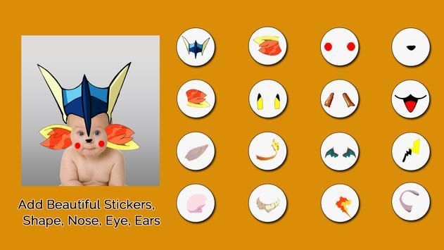 Poketown Photo Stickers Editor poster
