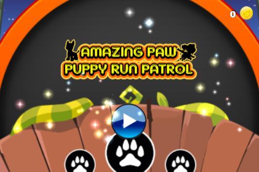 Amazing Paw Puppy Run Patrol poster