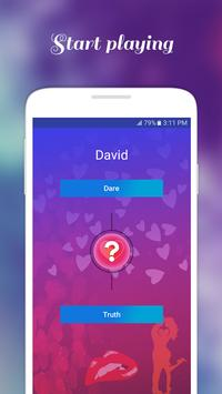 Truth and Dare Dirty Game for Couple apk screenshot