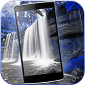 Waterfall Wallpaper background icon