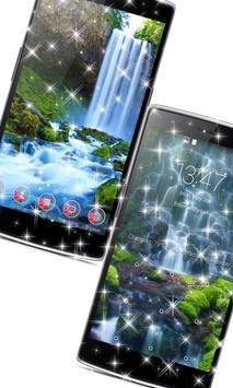 Waterfall Wallpaper background apk screenshot
