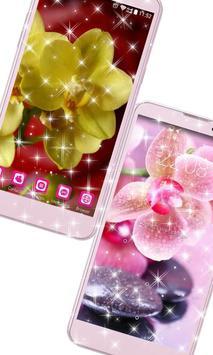 Orchid Flower Wallpaper HD apk screenshot