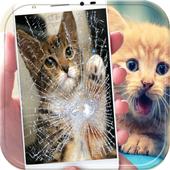 Broken Screen Wallpaper HD icon