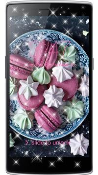 Macaroon Wallpaper Dessert apk screenshot