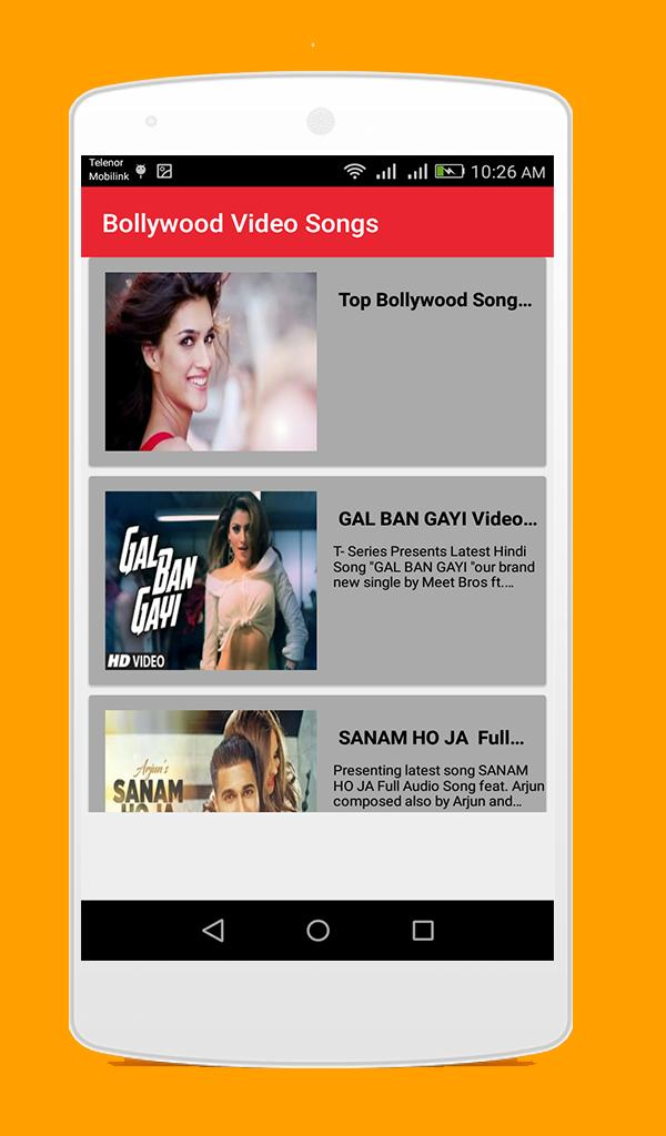 HD Bollywood Video Songs 2016 for Android - APK Download