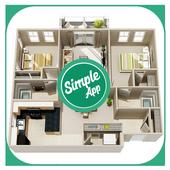 3D Small Home Plan Ideas icon