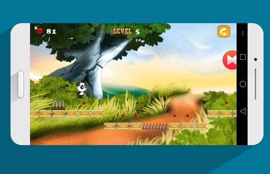 Jungle Run Adventure Of Panda poster