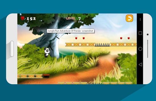 Jungle Run Adventure Of Panda apk screenshot